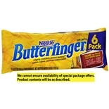 Nestle Butterfinger Candy Bars 6 Pack Butterfinger