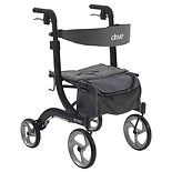 Drive Medical Nitro Euro Style Rollator Walker Black