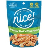Nice! Cashew Halves & Pieces Unsalted