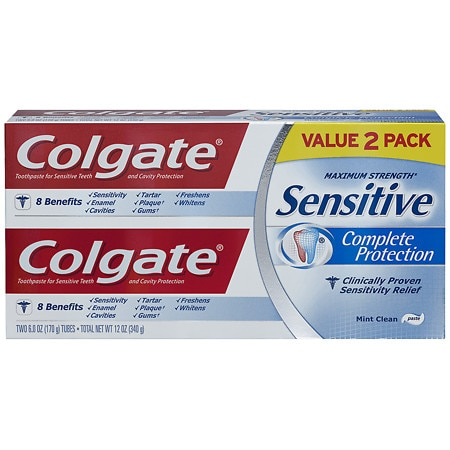 Colgate Sensitive Complete Protection Toothpaste Twin Pack