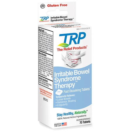 The Relief Products Irritable Bowel Syndrome Therapy Homeopathic Fast Dissolving Tablets