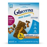 Glucerna Nutrition Bars Mini Snacks 6 Pack Chocolate Caramel