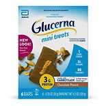 Glucerna Nutrition Bars Mini Snacks 6 Pack Chocolate Peanut