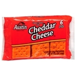 Austin Cheese Crackers with Cheddar Cheese 6 Pack Cheddar Cheese