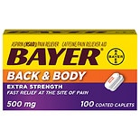 Bayer Back & Body Aspirin Coated Caplets