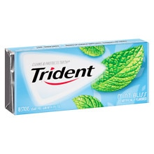 Trident Sugar Free Gum with Xylitol Mint