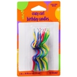 Creative Converting Crazy Curl Birthday Candles Assorted