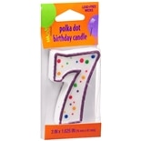 Creative Converting Polka Dot Birthday Candle Multi