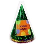 Creative Converting Prismatic Party Hats Assorted