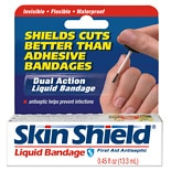 Skin Shield Liquid Bandage First Aid Antiseptic Pain Reliever