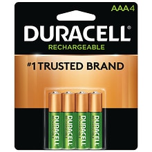 Duracell Rechargable NiMH Batteries AAA