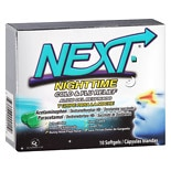 Next Day Nighttime Cold & Flu Relief Softgels