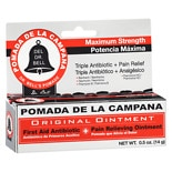 Pomada De La Campana First Aid Antibiotic/Pain Relieving Ointment