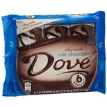 Dove Silky Smooth Milk Chocolate Bars 6 Pack Milk Chocolate