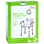 Nova Bath and Shower Seat with Back