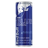 Red Bull The Blue Edition Energy Drink 8.4 oz Can Blueberry