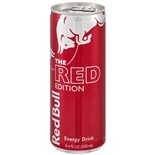 Red Bull The Red Edition Energy Drink 8.4 oz Can Cranberry