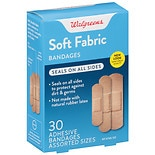 Walgreens Soft Comfort Fabric Bandage Assorted Sizes