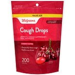 Walgreens Cough Drops Cherry