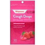 Walgreens Cough Drops Strawberry