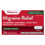 Walgreens Migraine Relief Coated Caplets