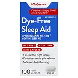 Walgreens Sleep Aid Mini Caplets