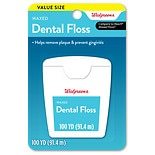 Walgreens Waxed Dental Floss