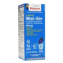 Walgreens Wal-Itin Children's Allergy Oral Solution Grape