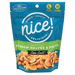 Nice! Cashews Halves & Pieces Roasted with Salt