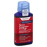 Walgreens Mucus Relief Severe Congestion & Cough Liquid