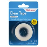 Walgreens Clear Tape