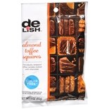 Good & Delish Chocolate Squares, Sugar Free Almond Toffee