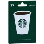 Starbucks $25 Gift Card