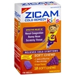 Zicam Kids Soft Chews Grape