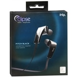 IHIP Eclipse Pitch Black Audio Earphones Black
