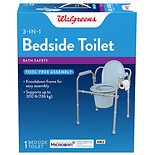 Walgreens Bedside Toilet with Microban