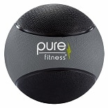 Pure Fitness Medicine Ball 12 lb Black/Gray