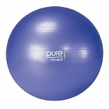 Pure Fitness Fitness Ball with Pump Blue
