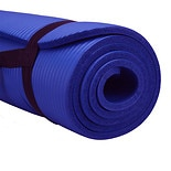 Pure Fitness Deluxe Fitness Mat Blue Iris