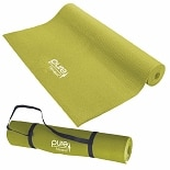 Pure Fitness Yoga Mat Limey Yellow