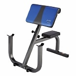 Pure Fitness Preacher Curl Bench Blue/Black