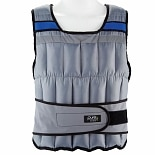Pure Fitness Weighted Vest 40 lb Gray