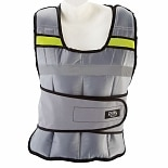 Pure Fitness Weighted Vest 20 lb Gray