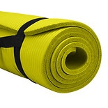 Pure Fitness Deluxe Fitness Mat Lime