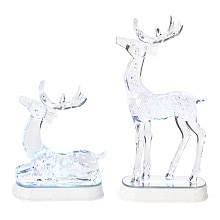 Roman LED Lighted Acrylic Reindeer