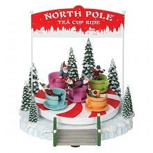 Amusements North Pole Tea Cup Ride