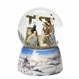 Glitterdomes Musical Water Globe with Nativity Scene