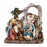 Joseph's Studio Nativity with Holy Family & 3 Kings