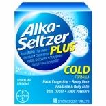 Alka-Seltzer Plus Cold Formula Effervescent Tablets Original