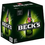 Becks Beer 12 Pack 12 oz Bottles 12 oz Bottles